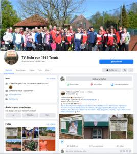 tv stuhr tennis facebook social media